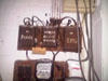 photo of an old fuse box